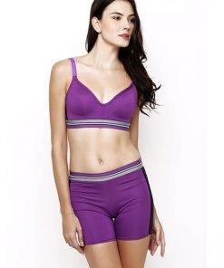 Jual Sport Bra amitie purple 2