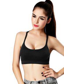 jual Lisette fashion tanktop bra hitam 2