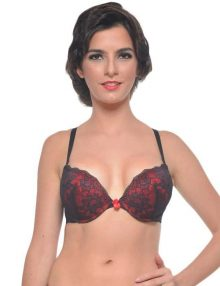 jual Bra Forget Me Not Hana Hibiscus Red