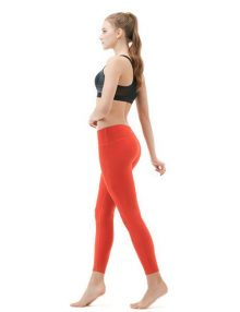 jual Sports Legging 90 Degree Capri Orange