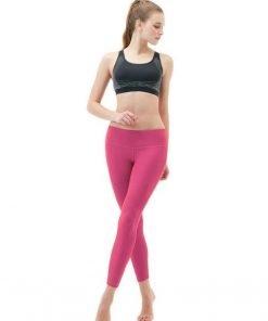 jual Sports Legging 90 Degree Capri Pink