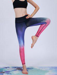 Sport Legging Space Blue Print