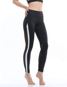 Yoga Legging Tulucky Sheer Mesh Black