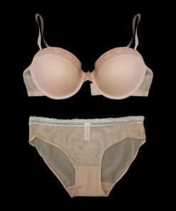 Bra Set Abena Light Orange Pink