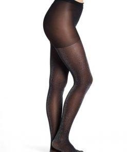Pantyhose Glitter Black Sparkle