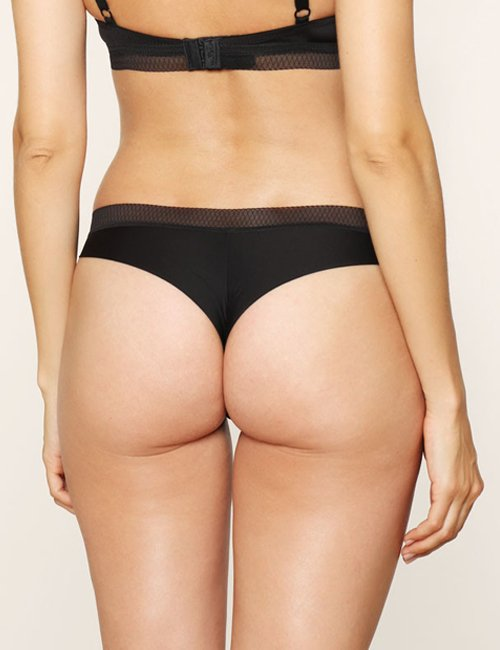 Thong Comfort Airy Black