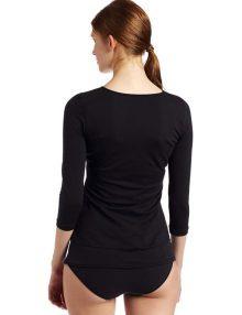 T-Shirt Flexees Maidenform Fat Free Dressing Black
