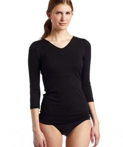 T-Shirt Flexees Maidenform Fat Free Dressing Black