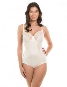 Bodysuit Maidenform Fflexees Embellished Firm Control Cream