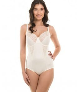 Bodysuit Maidenform Fflexees Embellished Firm Control Cream