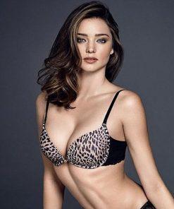 Bra Wonderbra Leopard Black