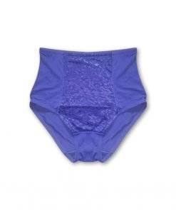 Panties High Waist Blue Leo Print