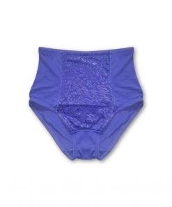 Panties High Waist Blue Leo Print