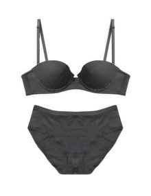 Bra Set Valentine Secret Sierra Black