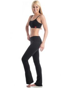 Legging Fat Free Boot Cut Style Black