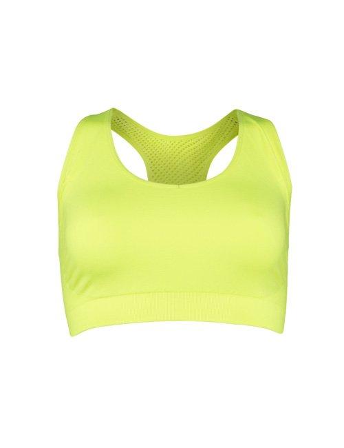 Sport Bra Seamless SOC Neon Yellow
