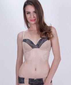 Bra Set Padded RHETO Bella Tender Nude