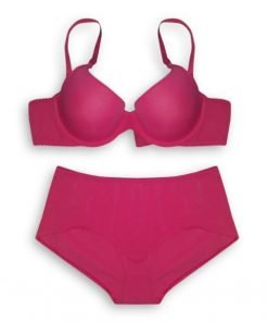 Bra Set Amitie Daily Wear Padded Pink