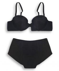 Bra Set Amitie Daily Wear Padded Black