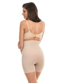 Shapewear Maidenform High Waist Shorty Sleek Smoothers Nude