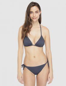 Basic Bikini Triangle Grey