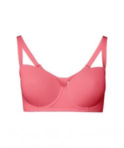 Bra Esmara Cotton Padded Full Support Pink