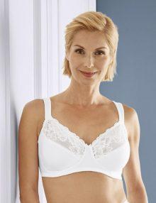 Bra Esmara Comfort Ladies Plus Size White