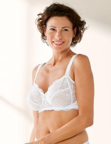 Bra Esmara Minimiser Lace White
