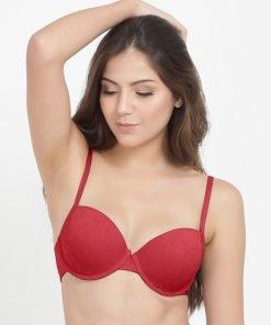 Bra Esmara Edge Beauty Lace Padded Hot Red