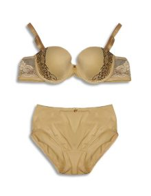 Bra Set Valentine Secret Charlize Beige