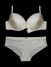 jual-bra-set-c&a-picot-straps-shiny-ivory