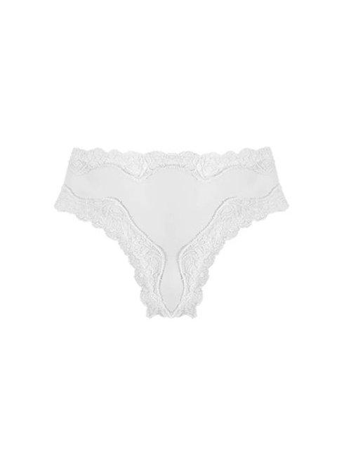 Brief Micro Fine Lace White