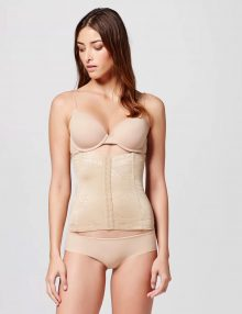 Shapewear Maidenform Waist Nipper Firm Control Nude