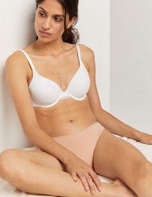 Panties Brief Comfort Cotton Rose Nude
