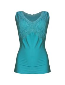 Cami Breezies Curve And Contour Lace Definition Tosca