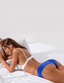Panties Seamless Ice Silk Blue