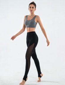 Yoga Legging Neo Mesh Panel Black