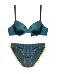 Bra Set T-Shirt Rheto Padded Midnight Blue