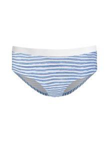 Brief Cotton Tori Striped Blue White