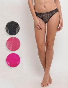Promo Brief All Over Lace Three Pack