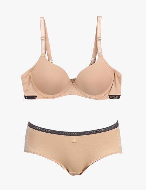 Bra Set Filativa Ice Nudie Free Wire Sporty Skin