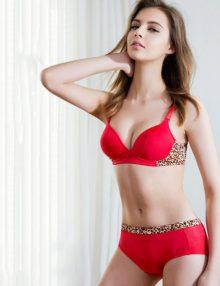 Bra T Shirt Filativa Red Leopard