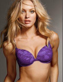 Bra Demi Up Lift Lace Biofit Purple