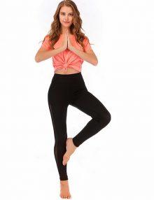 Legging Sporty Side Mesh Black